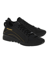 DSQUARED2 Basic Lace Up Low Yellow Black