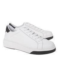 DSQUARED2 Bumper Leather White