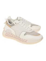 DSQUARED2 Vitello Running Calf Leather White