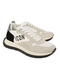 DSQUARED2 Running Velour Nylon White Black