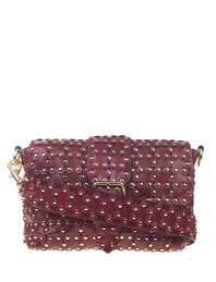 RED VALENTINO Puzzle Patent Studs Dark Red