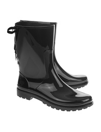 RED VALENTINO Rain Boot Black