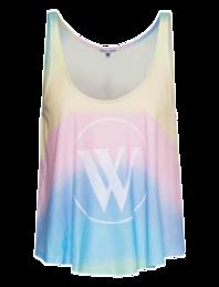WILDFOX Tie Dye Logo Solar Ink Multi