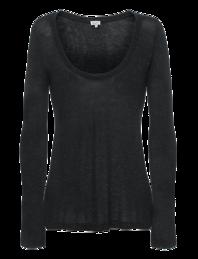 SPLENDID Sparkle Jersey Black