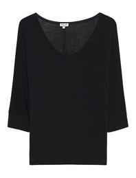 SPLENDID Drapey Lux Dolman Sleeve Black