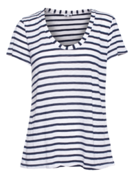 SPLENDID Venice Stripe White Blue