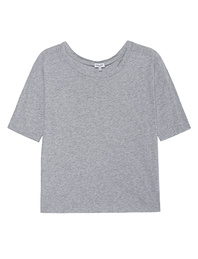 SPLENDID Very Light Jersey Boxy Tee Heather Grey