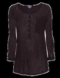 SPLENDID Speckled Melange Aubergine