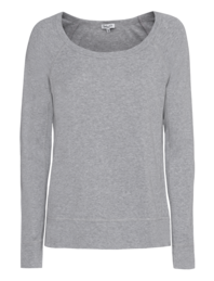 SPLENDID One And One Long Sleeve Heather Grey