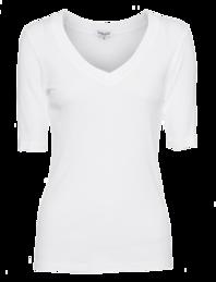 SPLENDID One And One 3/4 Sleeve White