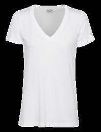 SPLENDID Very Light Jersey V-Neck White
