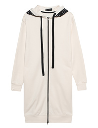 ILAY LIT Long Zip Wording Off White
