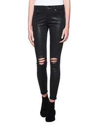 7 FOR ALL MANKIND Skinny Coated Black