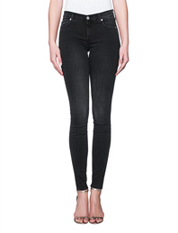 7 FOR ALL MANKIND The Skinny Bair Black Washed