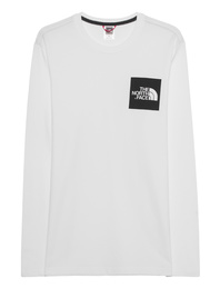 The North Face Fine Tee Longsleeve White
