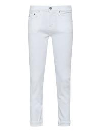 AG Jeans Ex Boyfriend Slim White