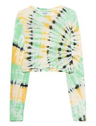 SPRWMN Long Tie Dye Green
