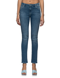 AG Jeans Mari High Rise Straight Blue