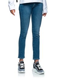 AG Jeans Marie High Rise Slim Straight Blue