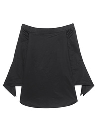 TIBI Off The Shoulder Black