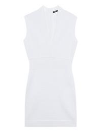 BALMAIN Pleated Knit White
