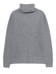 JADICTED Cashmere Turtleneck Light Grey