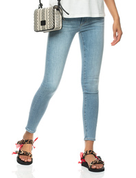 AG Jeans Farrah Skinny Ankle Light Blue