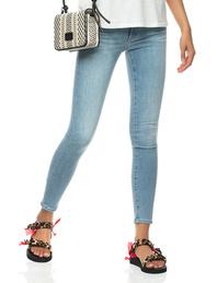 AG Jeans Farrah Skinny Ankle Light Blue