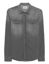 Dondup Western Shirt Grey