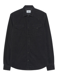 Dondup Cord Chest Pocket Anthracite