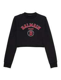 BALMAIN Short College Logo Black