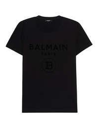 BALMAIN Flock All Black