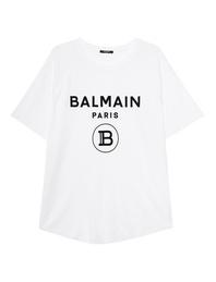 BALMAIN Oversize Raglan White