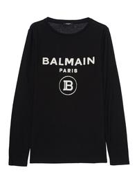 BALMAIN Velvet Logo Black