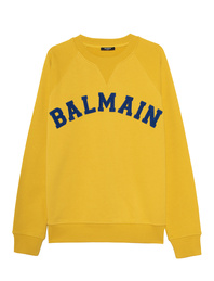 BALMAIN College Logo Raglan Yellow