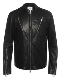 Dondup Leather Biker Black