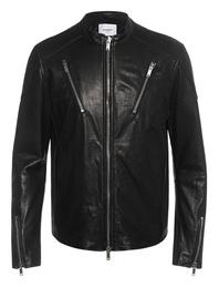 Dondup Leather Biker Black