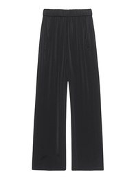 VINCE Wide Leg Crop Black