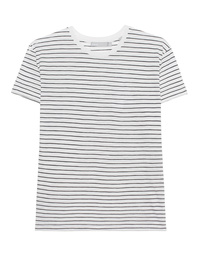 VINCE Relaxed Short Sleeve Tee White
