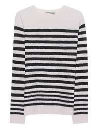 VINCE Bubble Knit Stripe Black