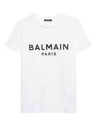 BALMAIN Logo Wording White
