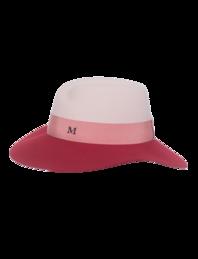 Maison Michel Virginie Antic Pink