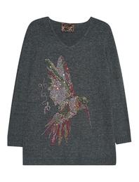 CAMOUFLAGE COUTURE STORK Hummingbird Knit Khaki