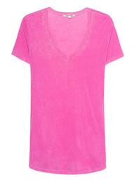 Cotton Citizen V-Neck Mykonos Pink