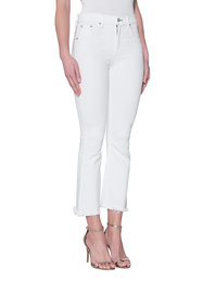 RAG&BONE Crop Flare Bright White