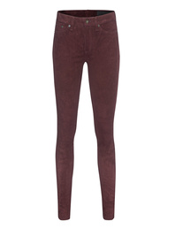 RAG&BONE Port Suede Bordeaux