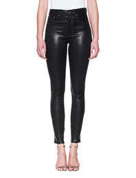 RAG&BONE Leather High Waist Skinny