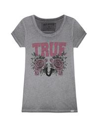 TRUE RELIGION Crew Shirt True Castlerock