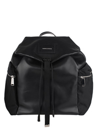 DSQUARED2 Military Leather Black