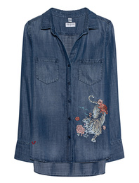 TRUE RELIGION Tiger Denim Blue